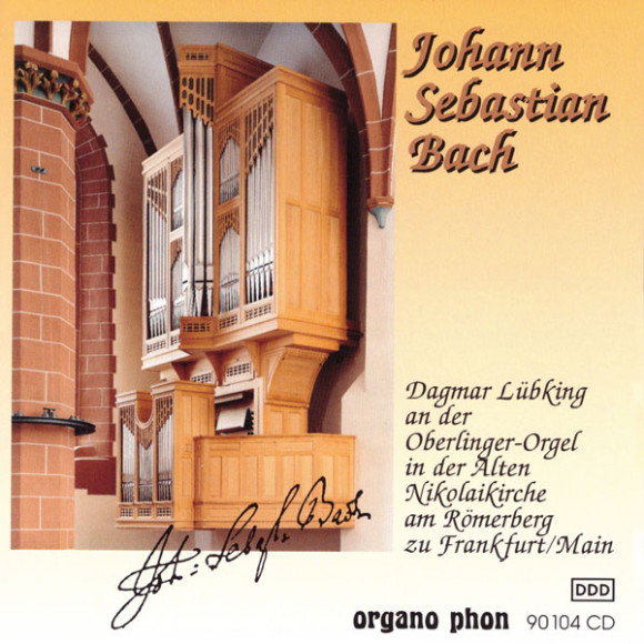 Johann Sebastian Bach Dagmar Lübking organo phon