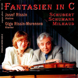 Fantasien in C Josef Rissin Olga Rissin-Morenova organo phon