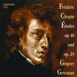 Chopin Etudes op. 10 op. 25 Grigory Gruzman organo phon